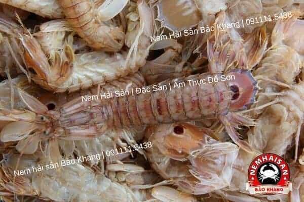 Bề bề Nguyên liệu nem hải sản chính hiệu Đồ sơn