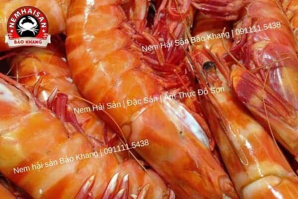 Nguyên liệu hải sản tươi